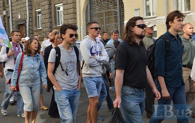 Добровольцы из «Днепра-1» пикетируют Администрацию Президента (ФОТО), фото-10