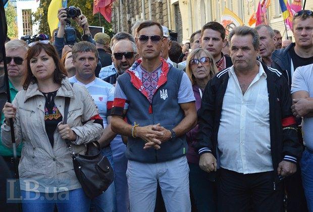 Добровольцы из «Днепра-1» пикетируют Администрацию Президента (ФОТО), фото-15
