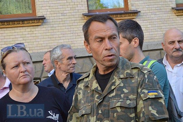 Добровольцы из «Днепра-1» пикетируют Администрацию Президента (ФОТО), фото-6