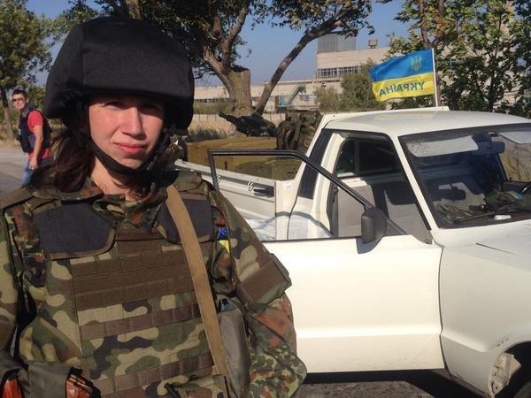 Татьяна Черновол защищает Мариуполь вместе с «Азовом», фото-1