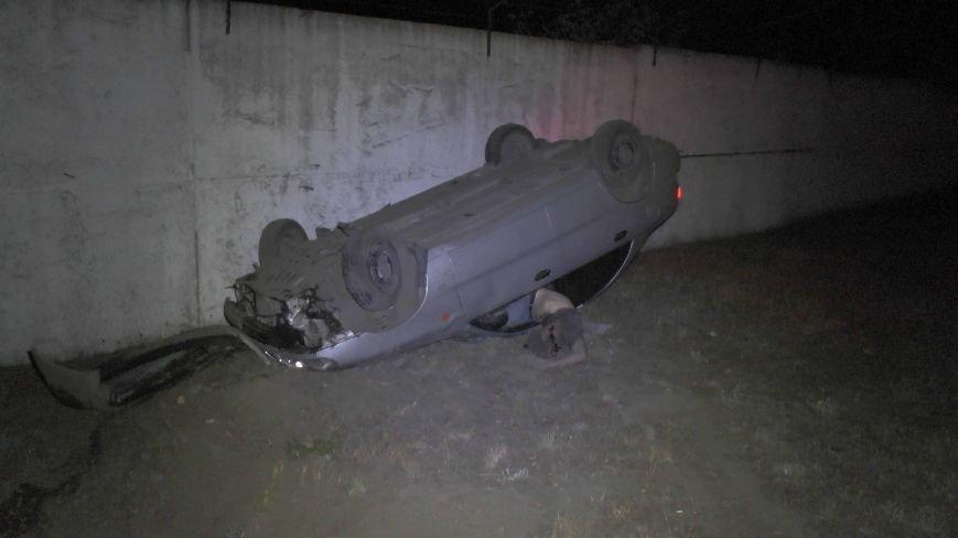 В Днепропетровске перевернулся автомобиль. Водитель погиб (ФОТО), фото-3