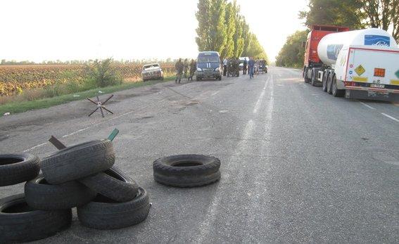 В Днепропетровской области, на блок-посту сотрудники милиции застрелили мужчину, фото-2