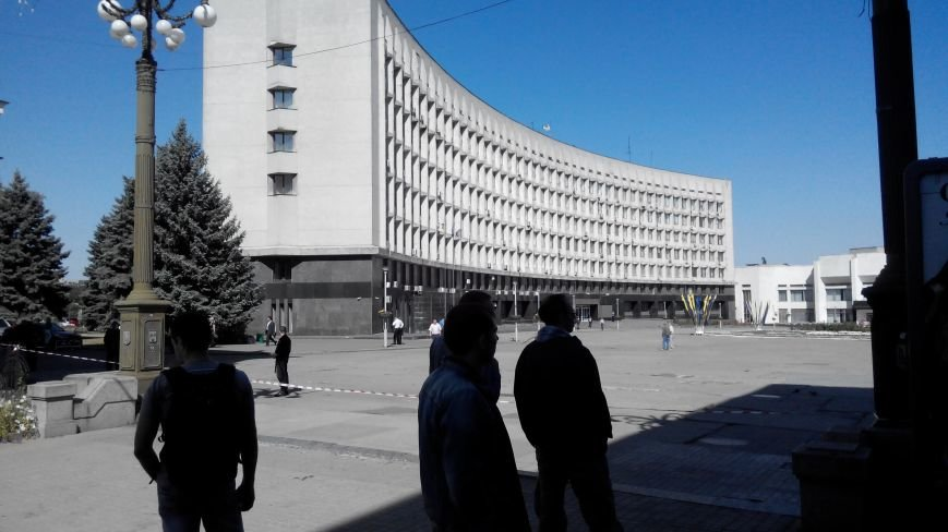В Сумах звонок о заминировании Пентагона парализовал работу чиновников (ФОТО), фото-1