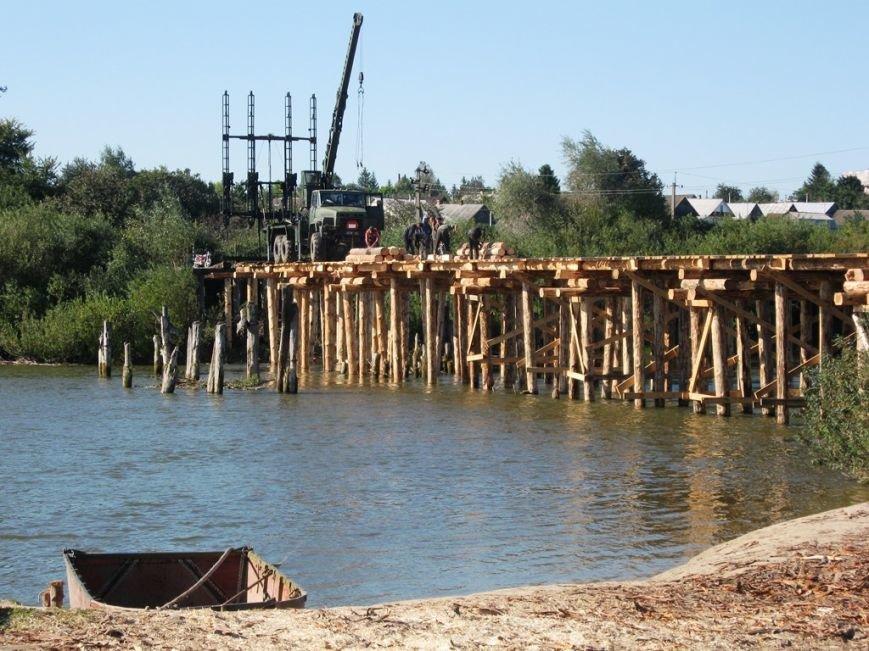 Військові на Рівненщині будують міст, який сполучить чотири села (Фото), фото-1
