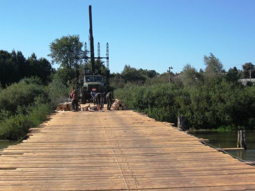Військові на Рівненщині будують міст, який сполучить чотири села (Фото), фото-3