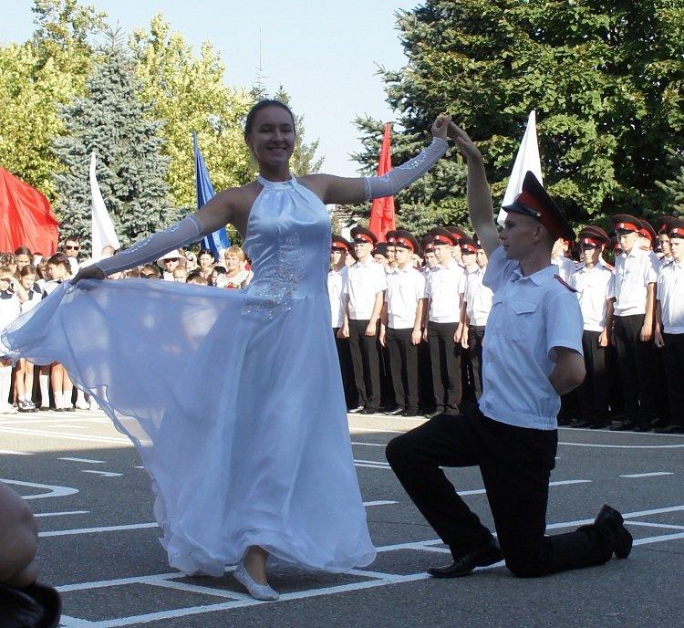 Белореченские казачата начали новый учебный год  в кадетских корпусах, фото-1