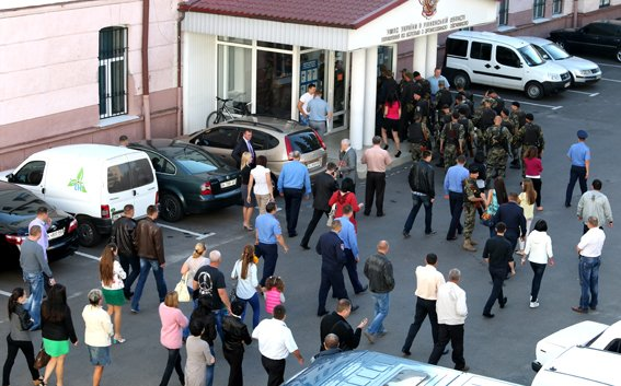 Рівненські правоохоронці повернулись додому із зони АТО (Фото), фото-1