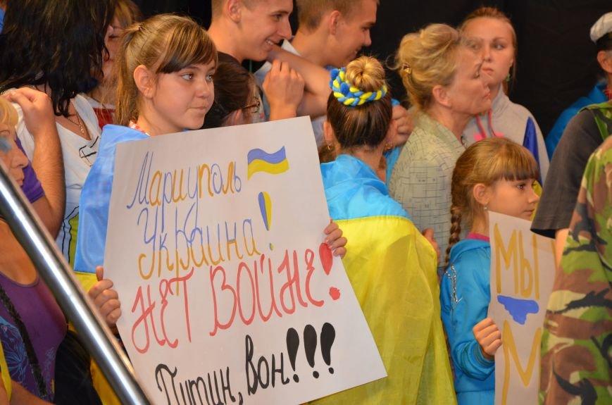 Начался телемост Мариуполь-Киев (Прямой эфир+ФОТО), фото-14