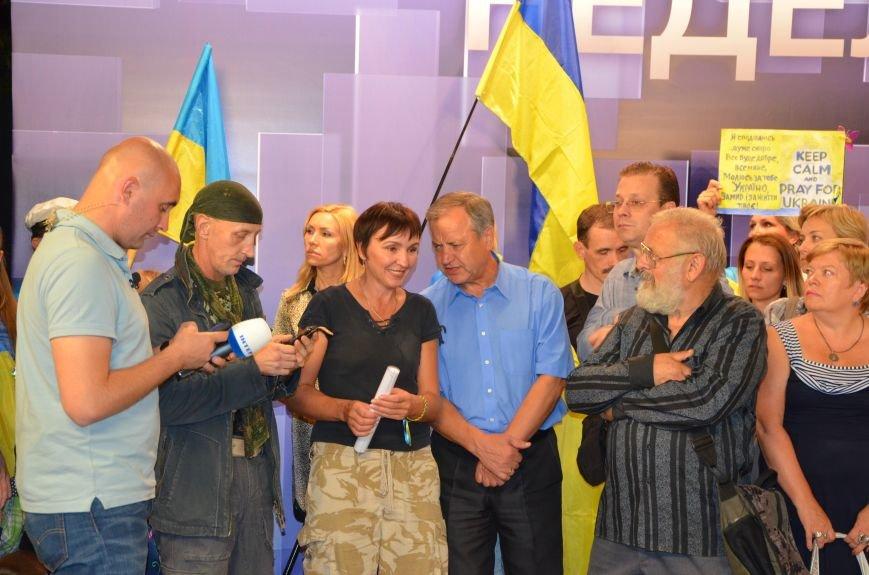 Начался телемост Мариуполь-Киев (Прямой эфир+ФОТО), фото-29