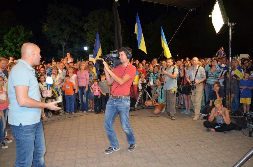 Начался телемост Мариуполь-Киев (Прямой эфир+ФОТО), фото-1