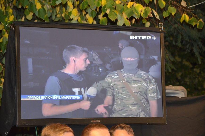 Начался телемост Мариуполь-Киев (Прямой эфир+ФОТО), фото-17