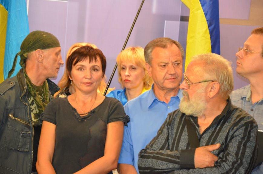 Начался телемост Мариуполь-Киев (Прямой эфир+ФОТО), фото-25