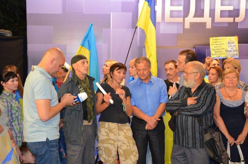 Начался телемост Мариуполь-Киев (Прямой эфир+ФОТО), фото-27