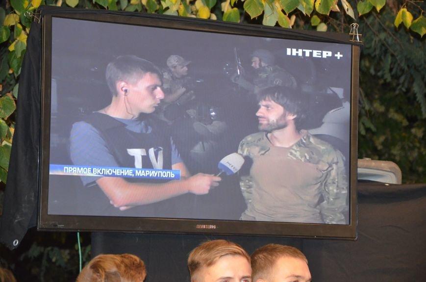 Начался телемост Мариуполь-Киев (Прямой эфир+ФОТО), фото-26