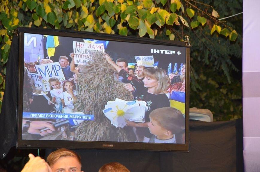 Начался телемост Мариуполь-Киев (Прямой эфир+ФОТО), фото-22