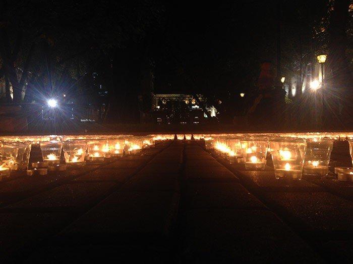 В Москве в память о погибших украинцах зажгли три тысячи свечей (ФОТО), фото-3