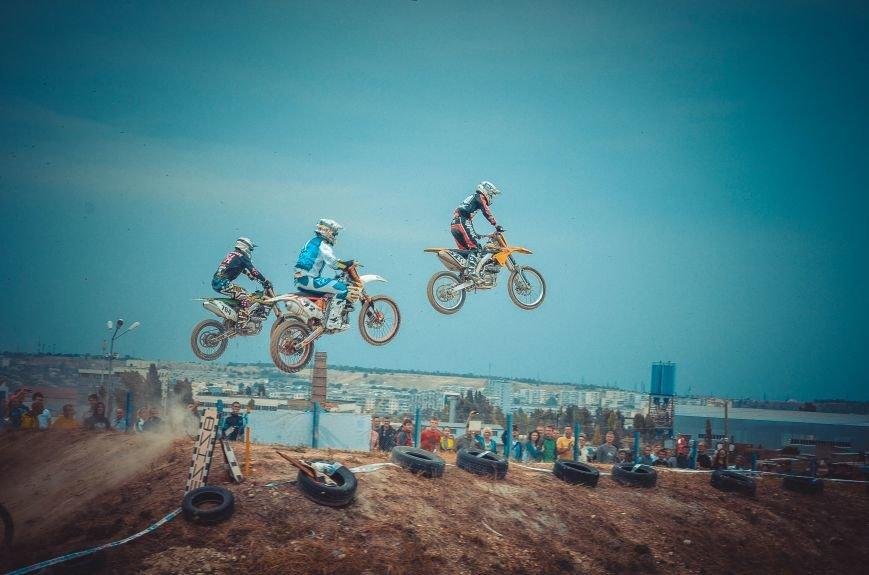 ФОТОРЕПОРТАЖ: В Симферополе соревновались мотокроссеры, фото-7