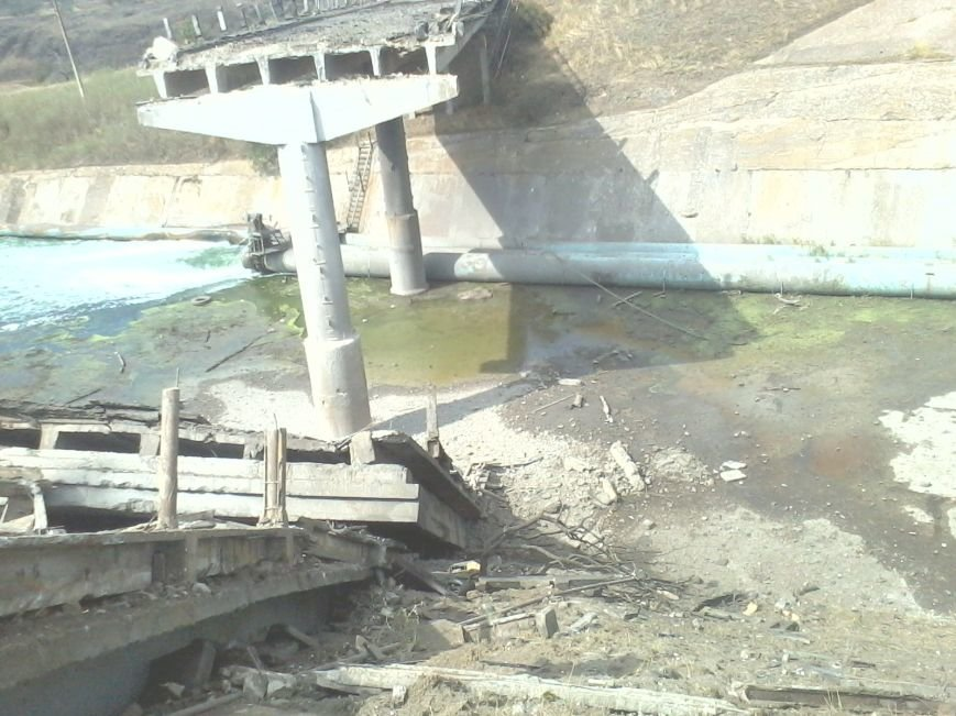 Под Мариуполем взорван мост (ФОТО), фото-4