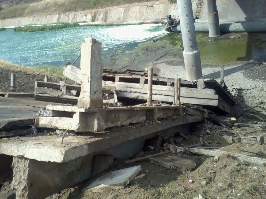 Под Мариуполем взорван мост (ФОТО), фото-1
