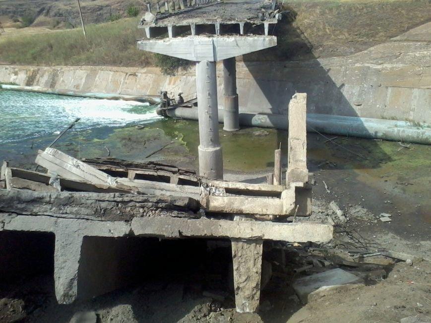 Под Мариуполем взорван мост (ФОТО), фото-2