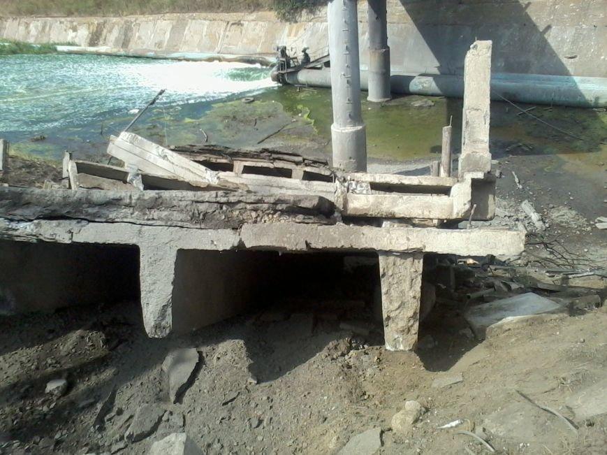 Под Мариуполем взорван мост (ФОТО), фото-5