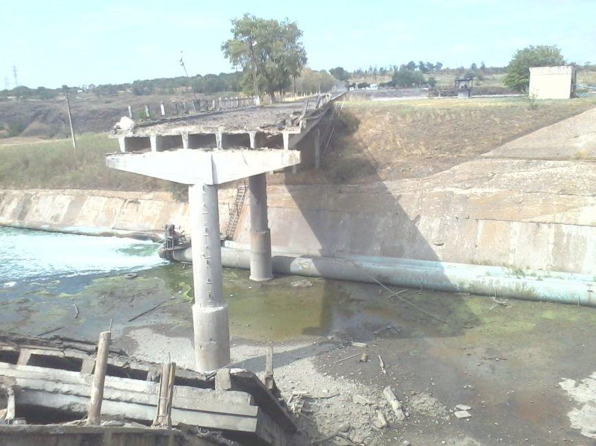 Под Мариуполем взорван мост (ФОТО), фото-3