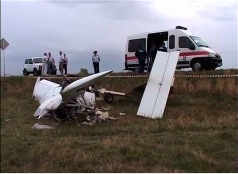 Следователи проводят проверку обстоятельств крушения самолета в Белгородской области, фото-1