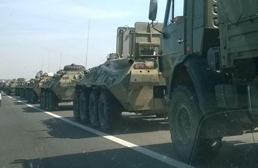 Россия выводит свою бронетехнику из Донбасса? (ФОТО), фото-1