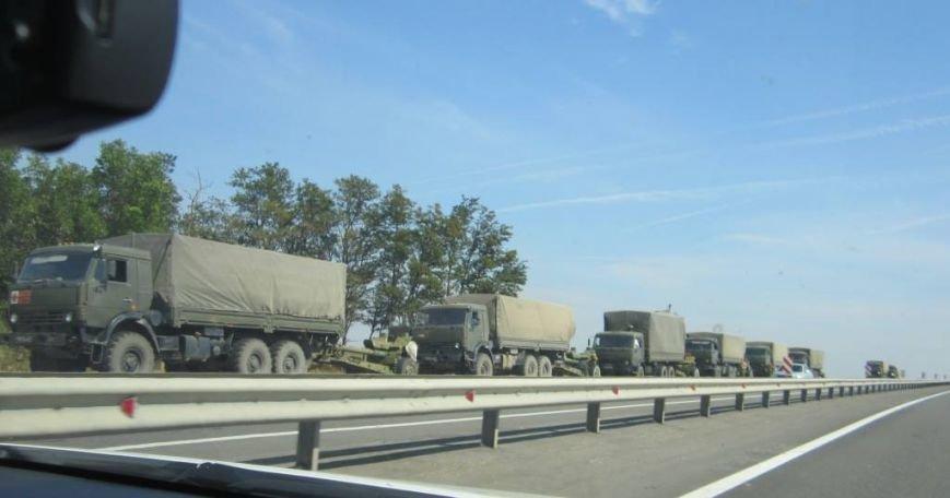 Россия выводит свою бронетехнику из Донбасса? (ФОТО), фото-2