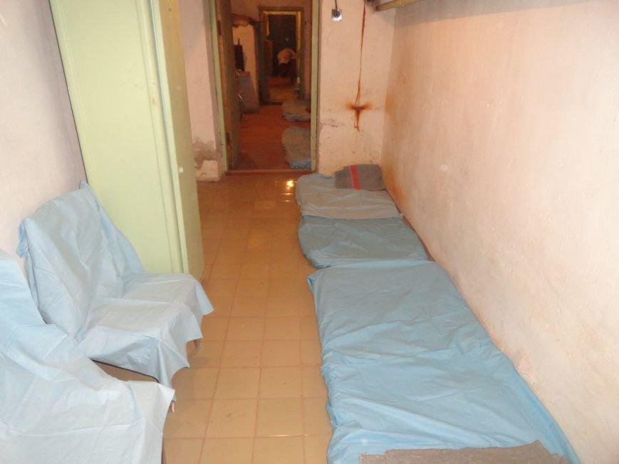 Мариупольские больницы подготавливали убежища для пациентов и персонала (ФОТО), фото-6