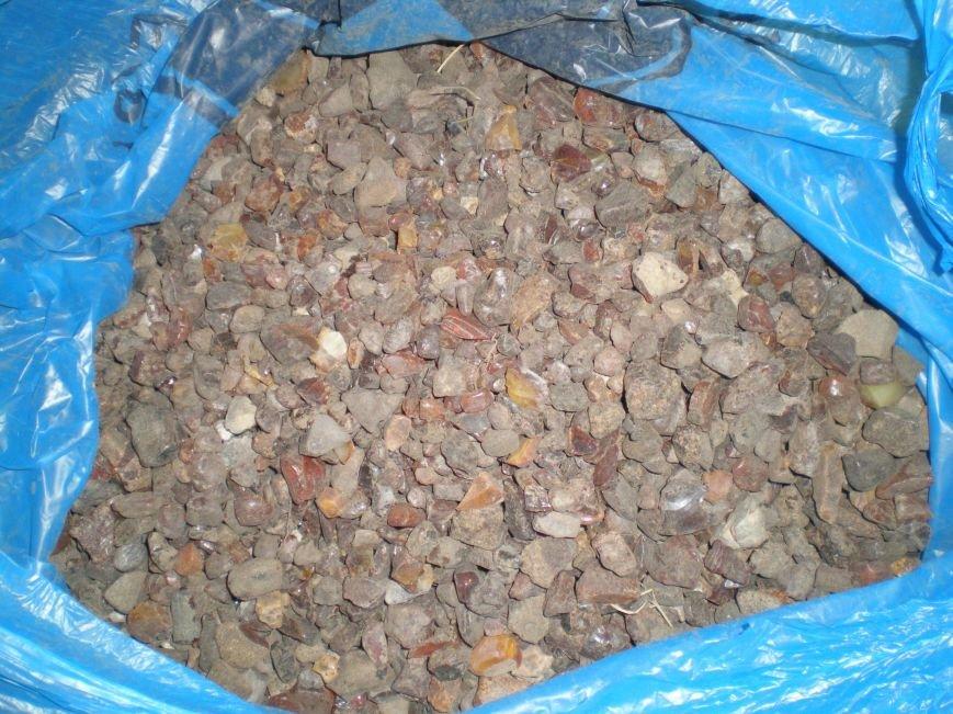 Правоохоронці виявили та вилучили близько 50 кілограм бурштину (Фото), фото-7