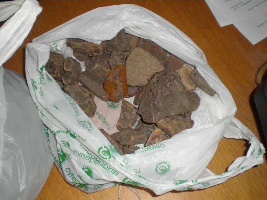 Правоохоронці виявили та вилучили близько 50 кілограм бурштину (Фото), фото-4