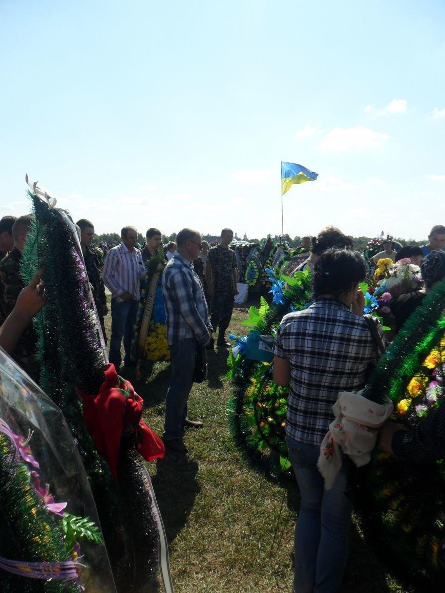 Черниговцы простились с погибшим в зоне АТО героем - Александром Шыком, фото-6