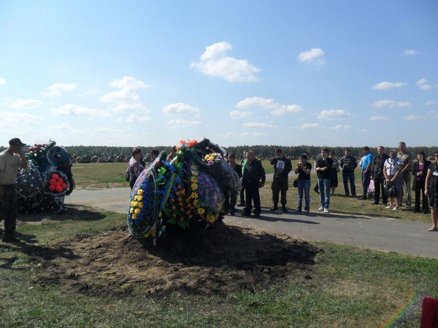 Черниговцы простились с погибшим в зоне АТО героем - Александром Шыком, фото-12