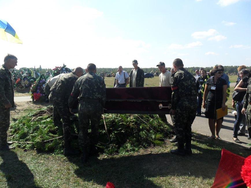 Черниговцы простились с погибшим в зоне АТО героем - Александром Шыком, фото-10