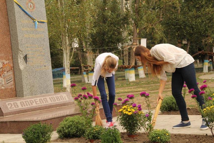 В Днепропетровске у памятника героям Чернобыля провели митинг-реквием (ФОТОРЕПОРТАЖ), фото-7