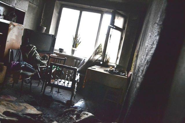 На Рівненщині внаслідок пожежі у багатоповерхівці евакуйовували людей (Фото), фото-1