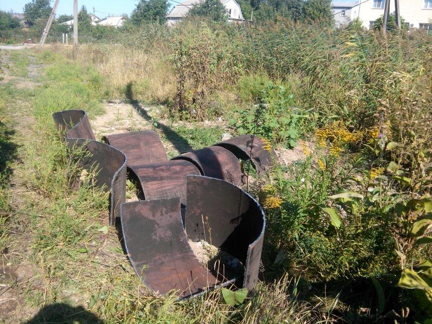 В Жовтневом районе продолжают вырезать трубы «Криворожтеплоцентрали» (ФОТО) (фото) - фото 1