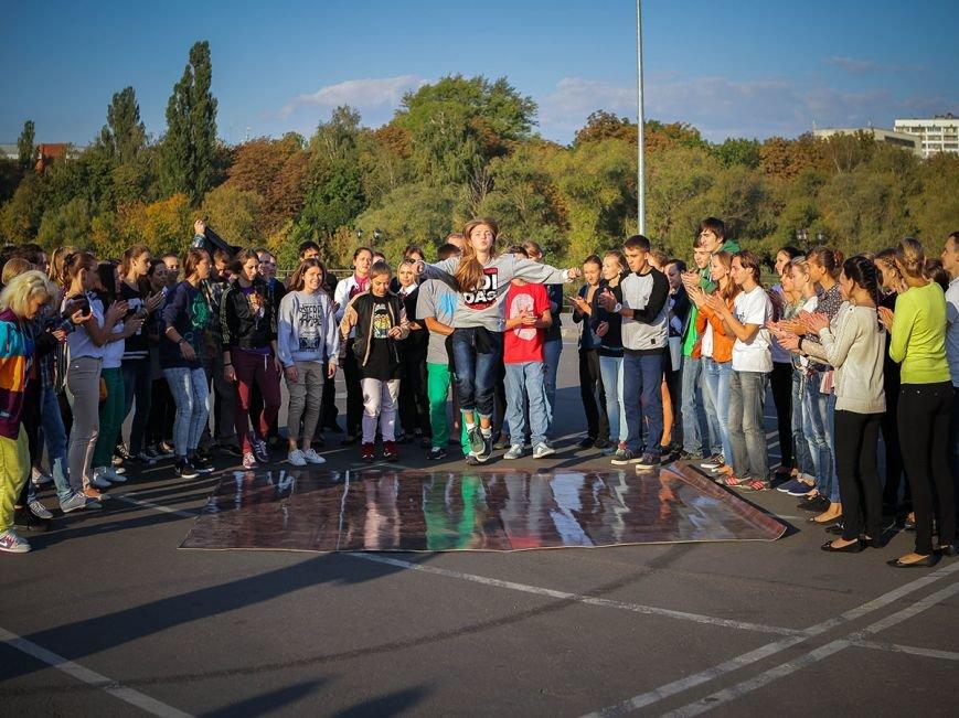 Флешмоб-победитель прошел в Сумах (ФОТО), фото-1