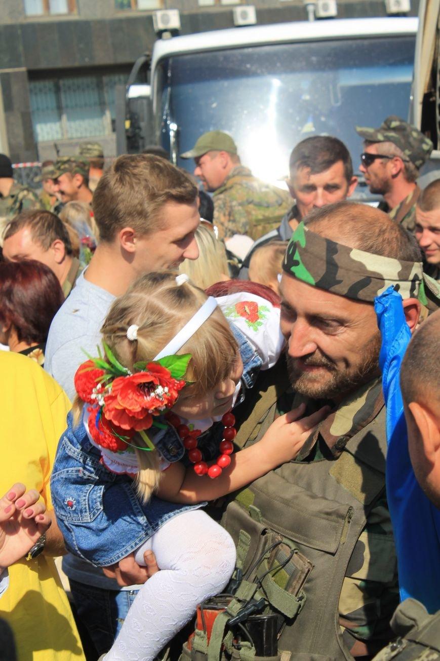 Сумские пограничники вернулись из зоны АТО (ФОТООТЧЕТ), фото-3