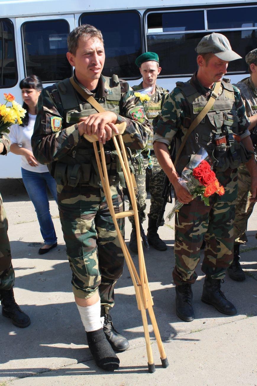 Сумские пограничники вернулись из зоны АТО (ФОТООТЧЕТ), фото-4