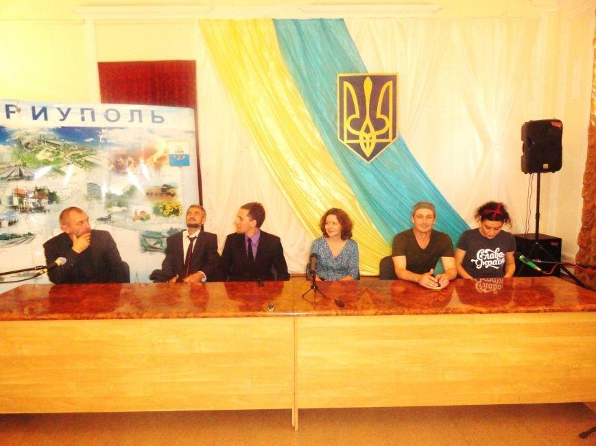 Артисты из Львова и Кельна признались в любви к Мариуполю (ФОТОРЕПОРТАЖ), фото-1