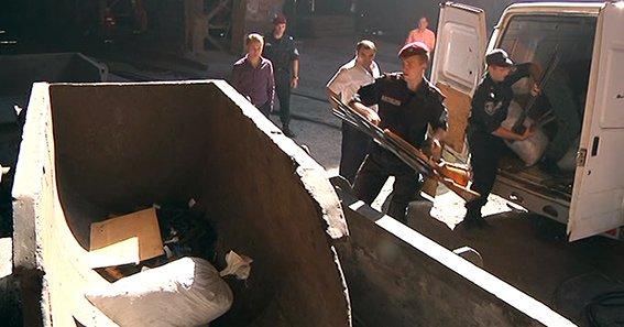 В Днепропетровской области расплавили 500 кг оружия, фото-1