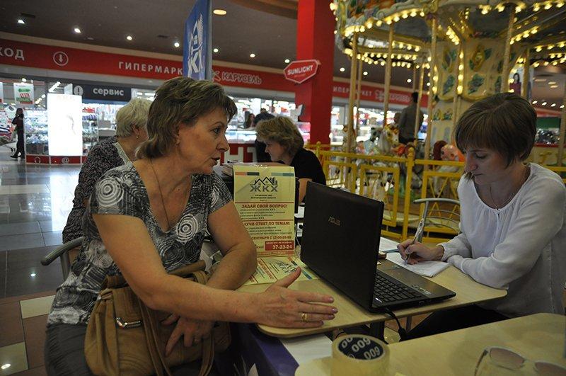 В популярных общественных местах Белгорода начался приём граждан по вопросам ЖКХ, фото-1