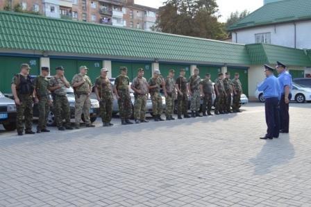 Працівники ДАІ Рівненщини вже втретє вирушили на Схід (Фото), фото-2