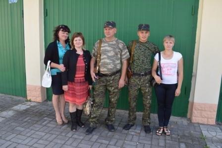 Працівники ДАІ Рівненщини вже втретє вирушили на Схід (Фото), фото-6