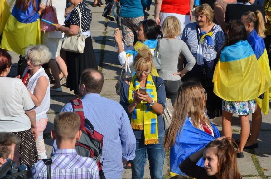 В Мариуполе вышили карту Украины (ФОТОРЕПОРТАЖ), фото-30