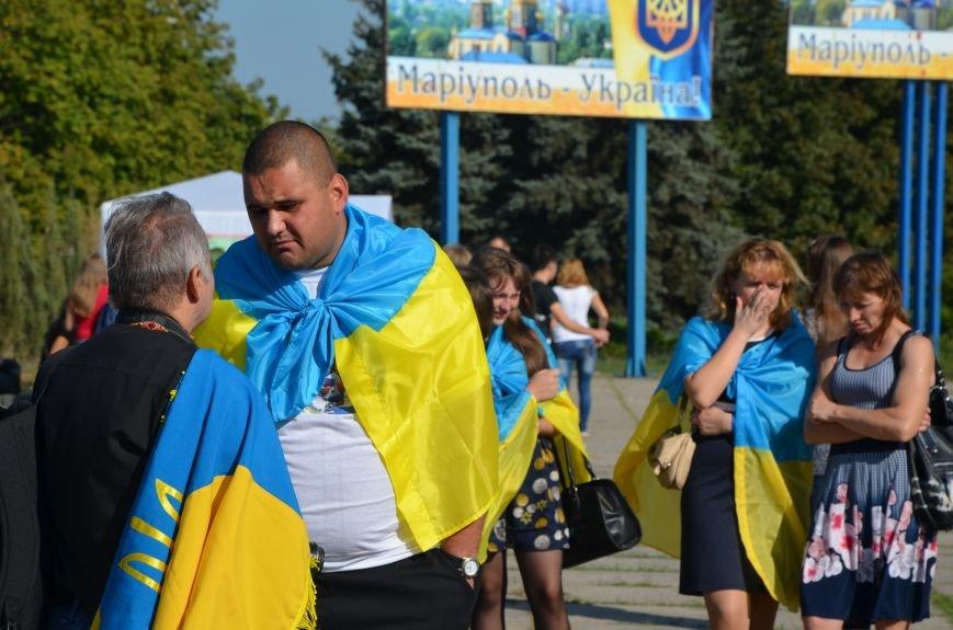 В Мариуполе вышили карту Украины (ФОТОРЕПОРТАЖ), фото-14