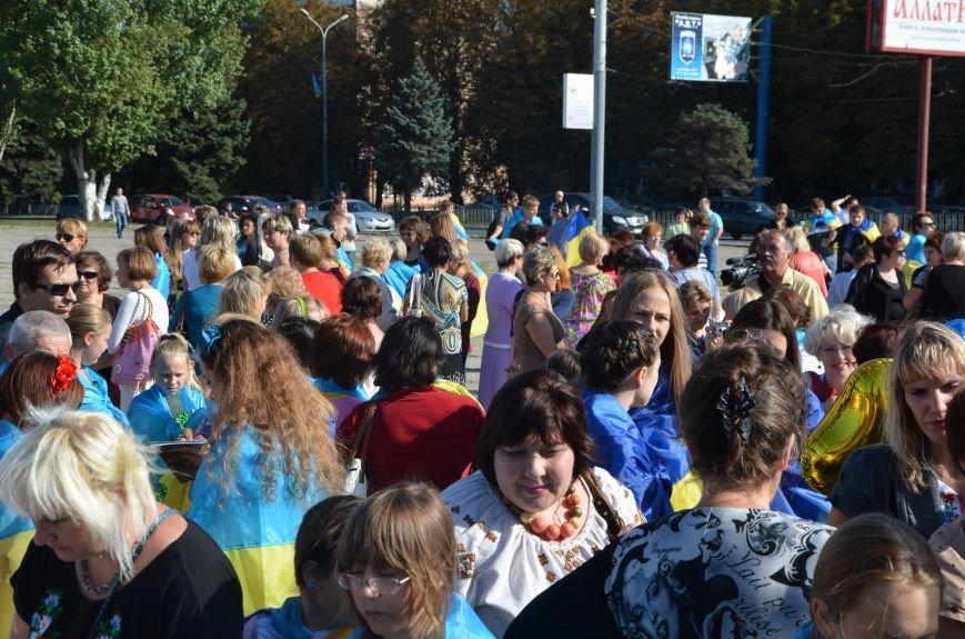 В Мариуполе вышили карту Украины (ФОТОРЕПОРТАЖ), фото-26