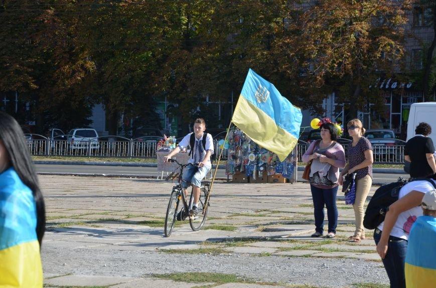 В Мариуполе вышили карту Украины (ФОТОРЕПОРТАЖ), фото-44